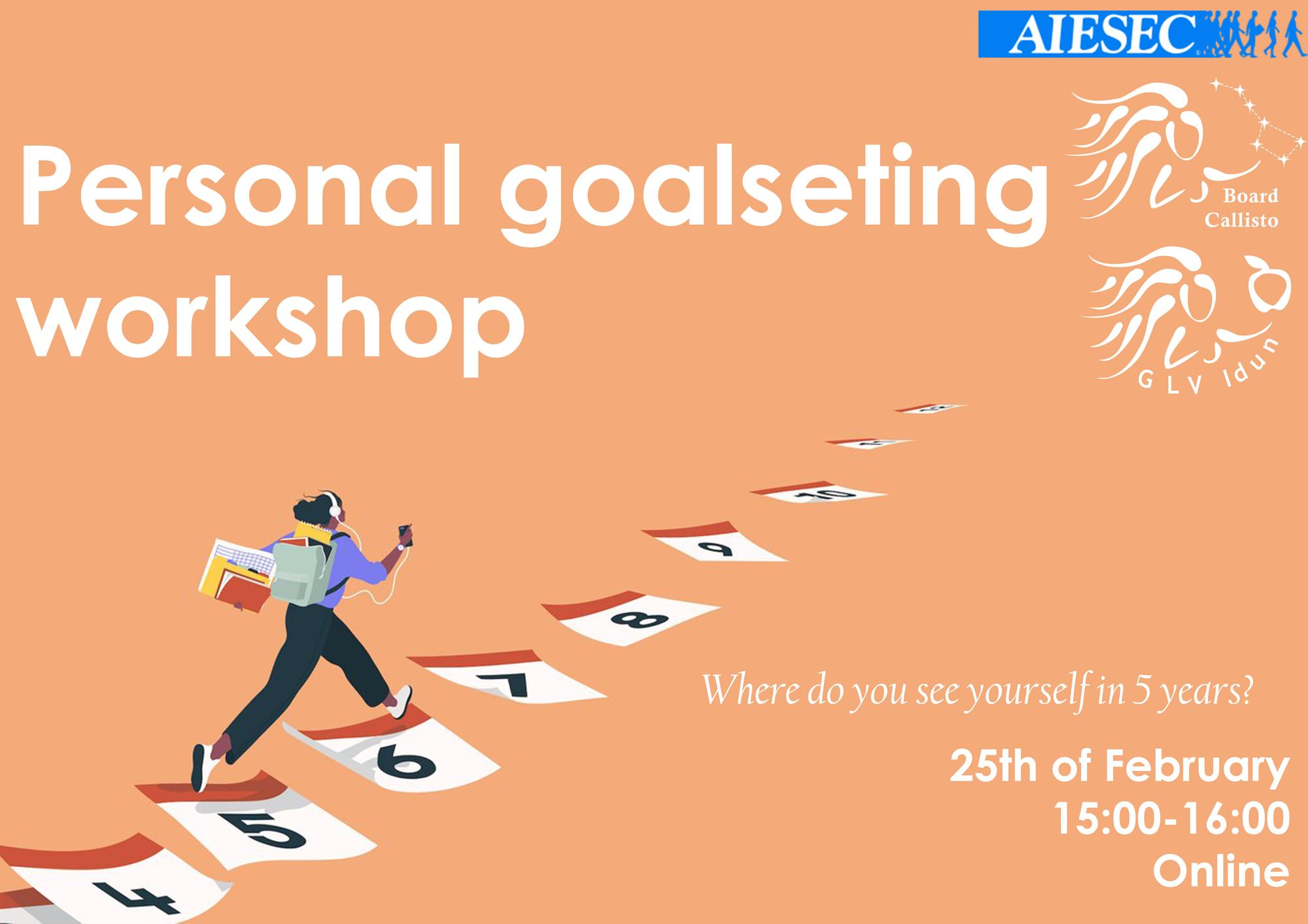 Personal Goalsetting Workshop