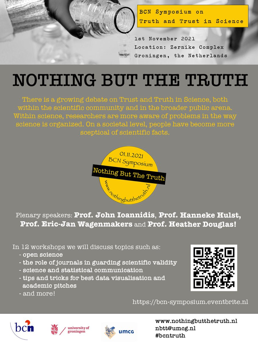 'Nothing but the Truth'  BCN symposium on trust and truth in science