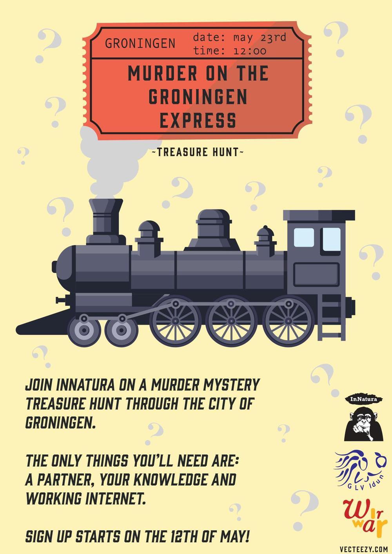 Treasure Hunt - Murder on The Groningen Express