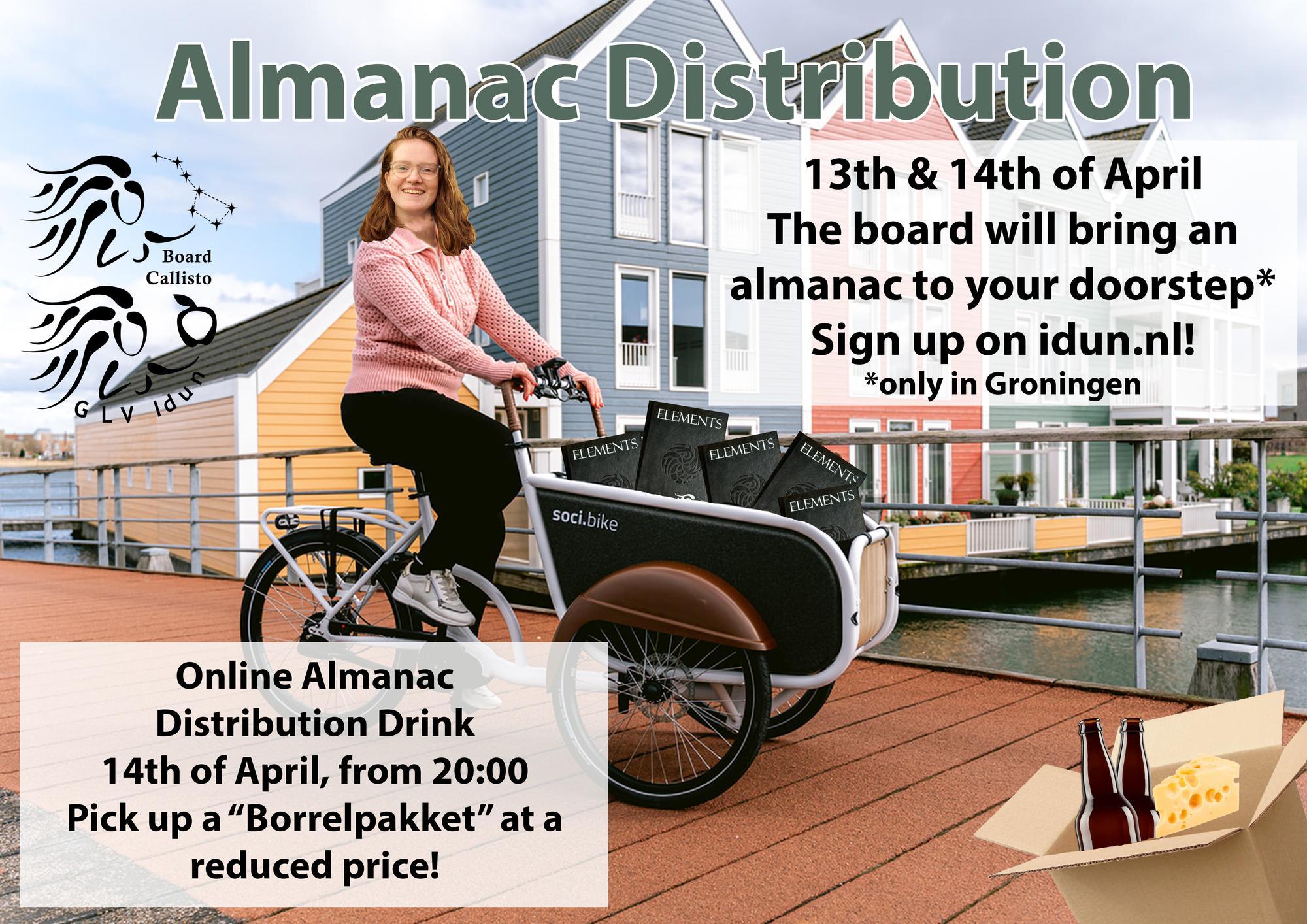 Almanac distribution