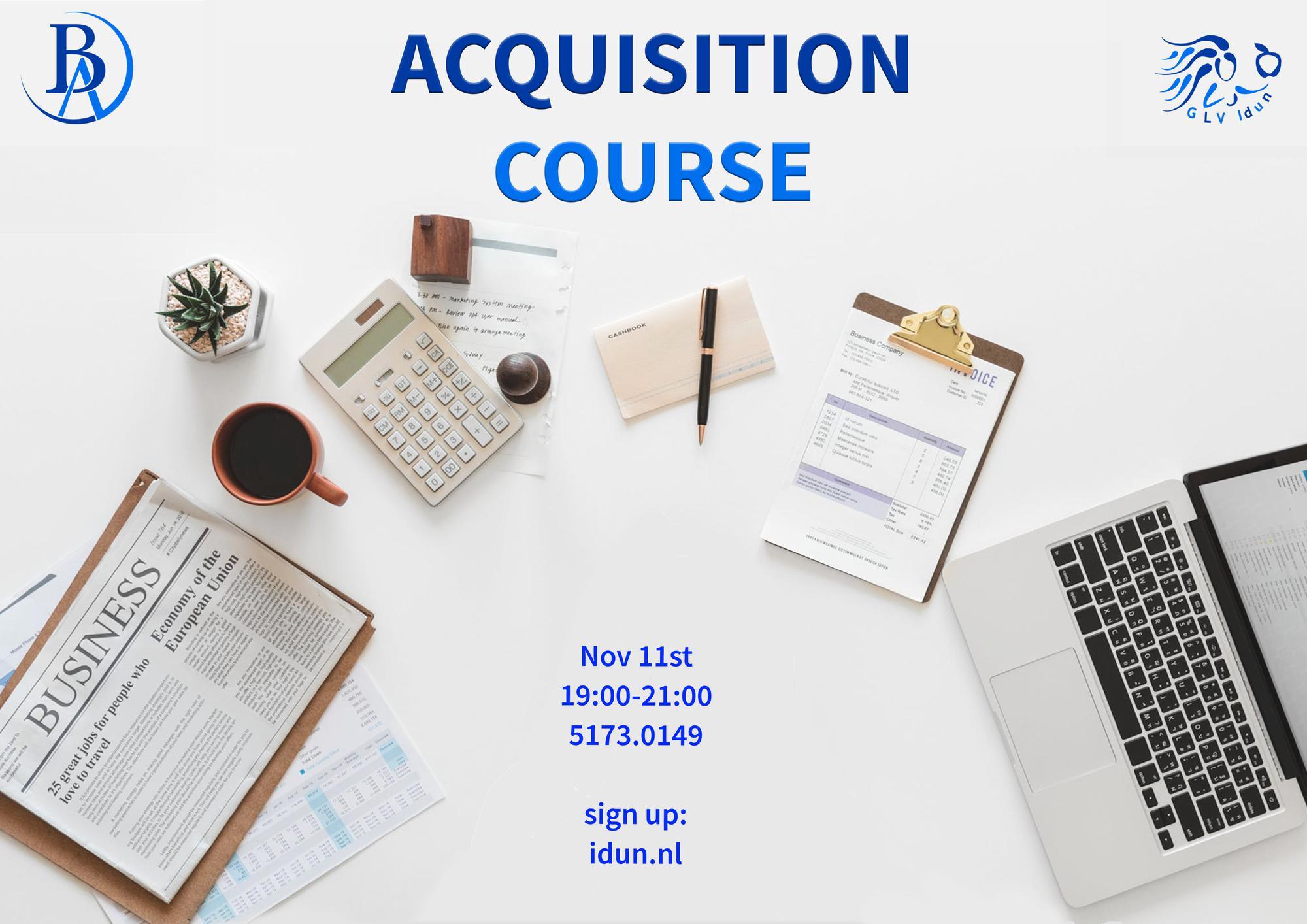 Acquisition Course