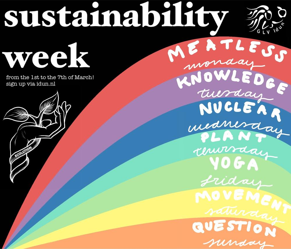 Sustainability Week - Meatless Monday
